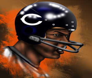 Chicago Bears Hall of Fame Runningback